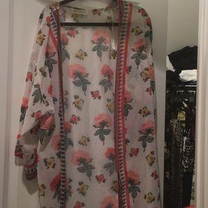 H&M Coachellla Long kimono size small